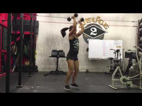 BIRTHFIT Dumbbell Clean and Press