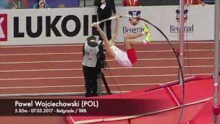Pawel Wojciechowski (POL) - 5.85m - 03.03.2017 - Belgrade/SRB winning bronze medal!