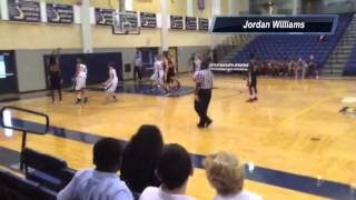 Jordan Williams 2012-2013 Basketball Highlights
