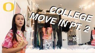 College Move In Vlog (pt. 2) | Emma