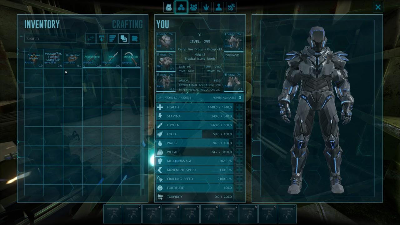 Elegant Ark Survival Evolved New Ark HUD And UI   V256 Update