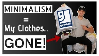 Giving 90% of My Clothes Away & Why Minimalism