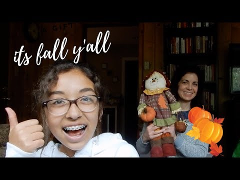 Fall Decorating Ideas & Even Decorating my Own House   WK 65