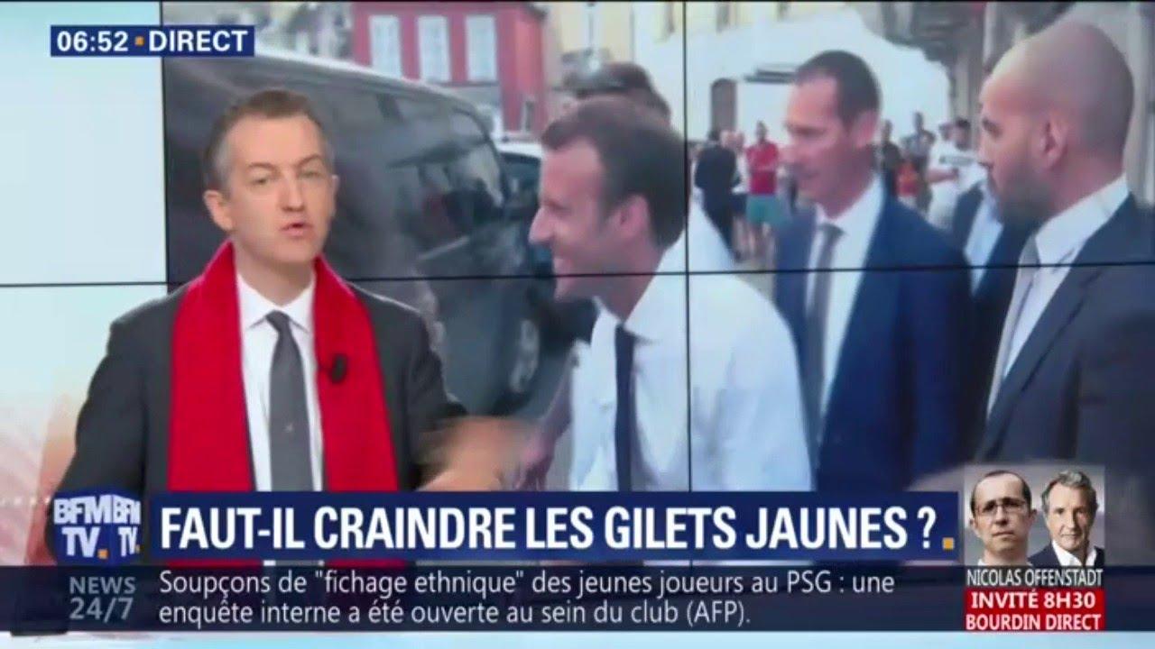 """EDITO - La mobilisation des gilets jaunes: """"va mesurer la quantité de colère"""""""