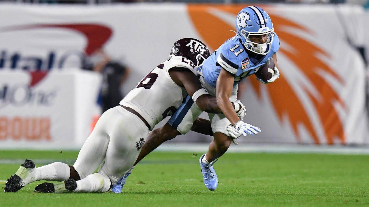 Video: UNC vs. Texas A&M Orange Bowl Highlights