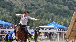 Horseback archery competition wows audiences in N China