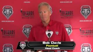 Bob Davie Press Conference | Sept. 1st, 2015