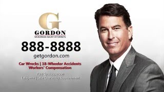 Lake Charles Car Wreck Lawyer | Get Gordon | Gordon McKernan Injury Attorneys