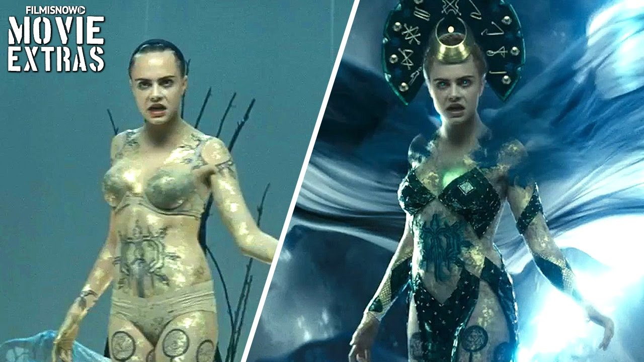 New Suicide Squad Behind The Scenes Video Appears To Show Cara