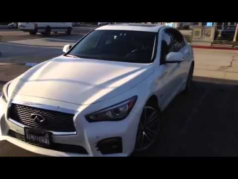 2014 Infiniti Q50 Hybrid Window Tint Los Angeles, CA 30% ...