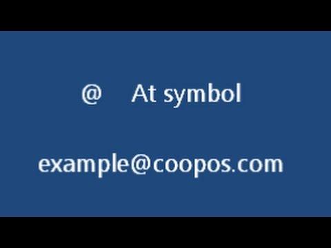 How To Say Keyboard Symbols In English - American English Pronunciation