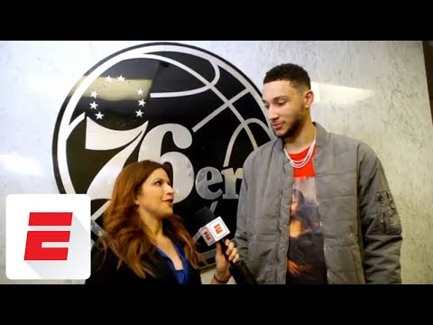 Ben Simmons interview: NBA Rookie of the Year case, visiting Meek Mill and more | The Jump | ESPN
