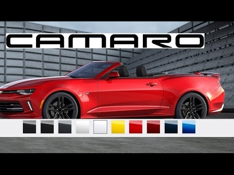 2016 Camaro Convertible Paint Colors