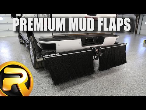 How To Install TowTector Premium Mud Flaps
