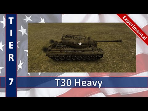 Armored Aces Gameplay T30 Heavy