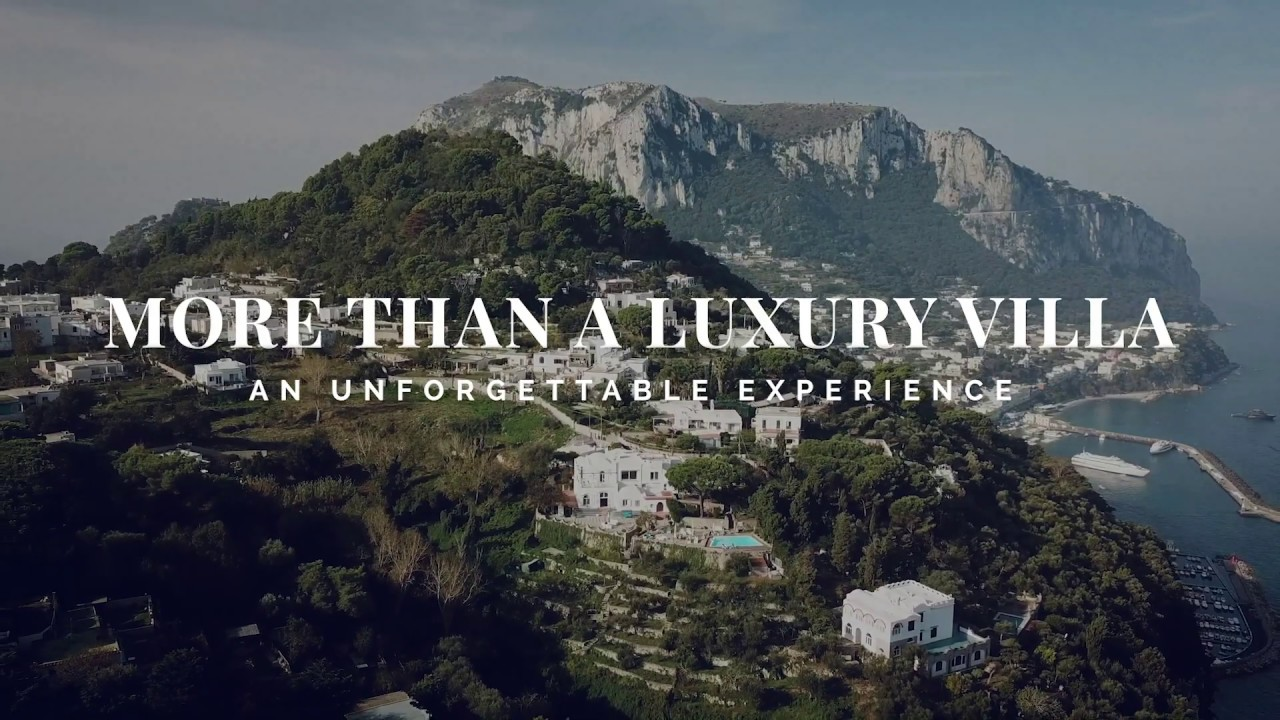 Villa Carolina Capri - More than a Luxury Villa, an unforgettable experience