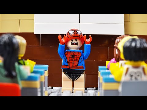 LEGO Spider-Man School Fail