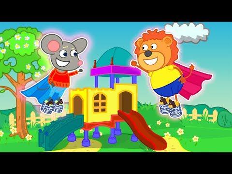 Lion Family 🌱 Smart Springs Cartoon For Kids