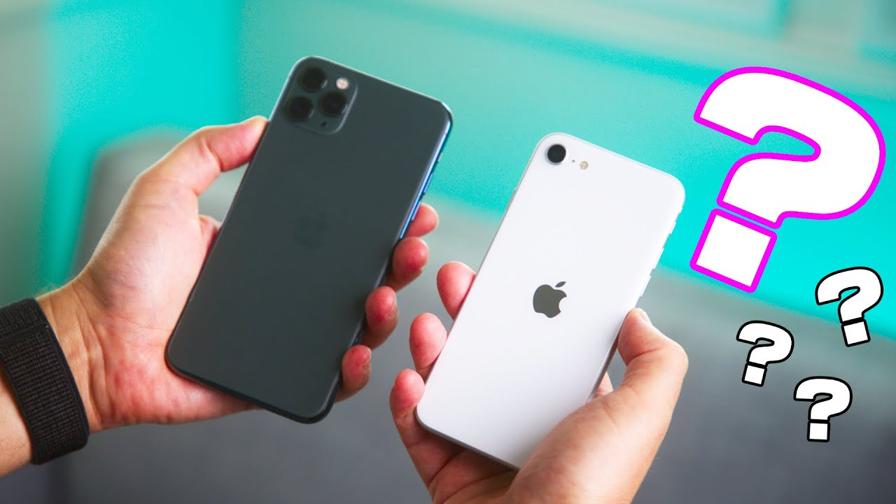 You're making a MISTAKE - iPhone SE vs iPhone 11