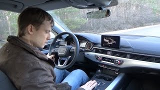 видео Audi A4 2016: характеристики