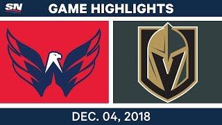 NHL Highlights | Capitals vs. Golden Knights - Dec 4, 2018