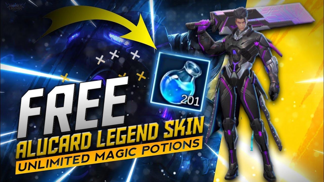 OMG!! 😱 Got Legend Skin For Free | Alucard Legend Skin ...