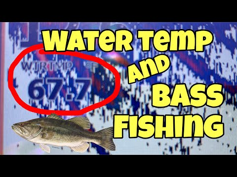 WATER TEMP And BASS FISHING