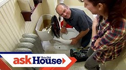 How to Repair a Cast-Iron Toilet Flange | Ask This Old House