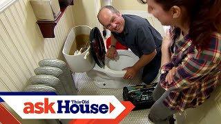 Video How to Repair a Cast-Iron Toilet Flange download MP3, 3GP, MP4, WEBM, AVI, FLV Oktober 2018