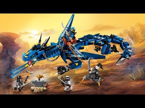 De Blauwe Draak.Lego 70652 Ninjago Stormbringer Blauwe Draak