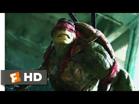Teenage Mutant Ninja Turtles (2014) - Raphael vs. Shredder Scene (5/10) | Movieclips