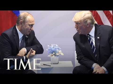 A Body Language Expert Analyzes President Trump And Russian President Putin's First Meeting | TIME