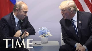 A Body Language Expert Analyzes President Trump And Russian President Putin