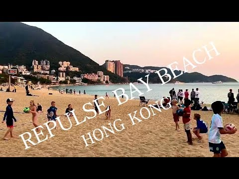 repulse-bay-beach-hongkong-||-vlog-tkl-hong-kong