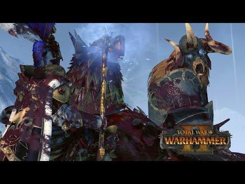 FRANZ vs KHOLEK - Empire vs Chaos // Total War: Warhammer II Online Battle