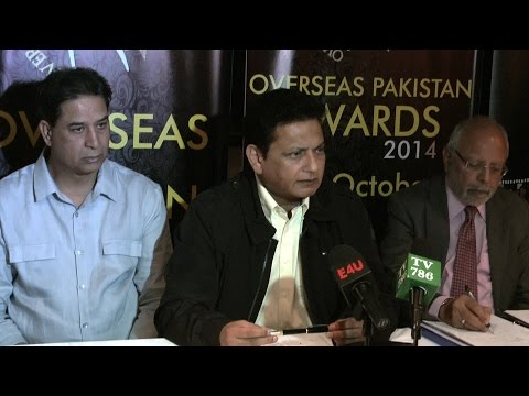 London OPA Overseas Pakistan Awards event will be on 4th oct 2014