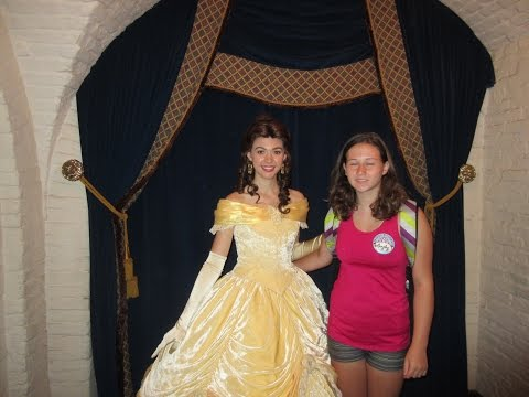 Disney Vacation August Day 5 Part 2 AKERSHUS Princess Dinner