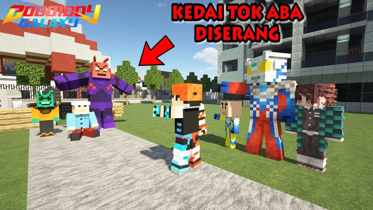 Adudu & BoRaRa Menyerang Bumi, BoBoiBoy FrosFire Beraksi - Minecraft BoBoiBoy Mod