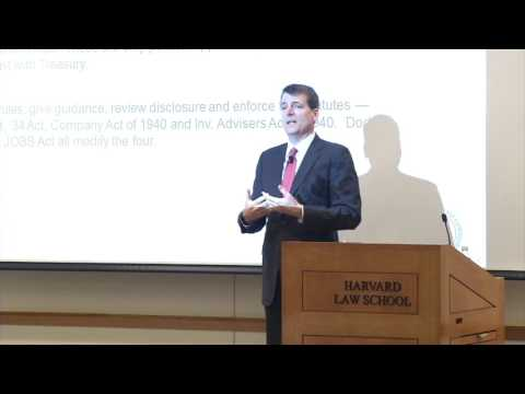 HLS Library Book Talk | Norm Champ—My Adventures Inside the SEC.