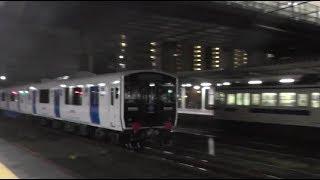 819系甲種輸送 門司駅2018年12月4日
