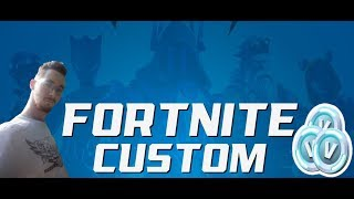 Fortnite Custom! 1000 VBUCKS LOTTERY TONIGHT 7 pm! #HUN 🔥 | Live