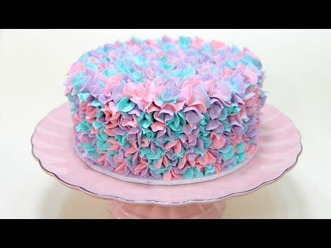 WATCH THIS! Easy Buttercream Piping WITH THREE COLORS