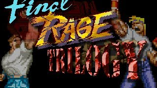 Streets Of Rage Remake V5 MOD Final Rage Perfect Version Longplay