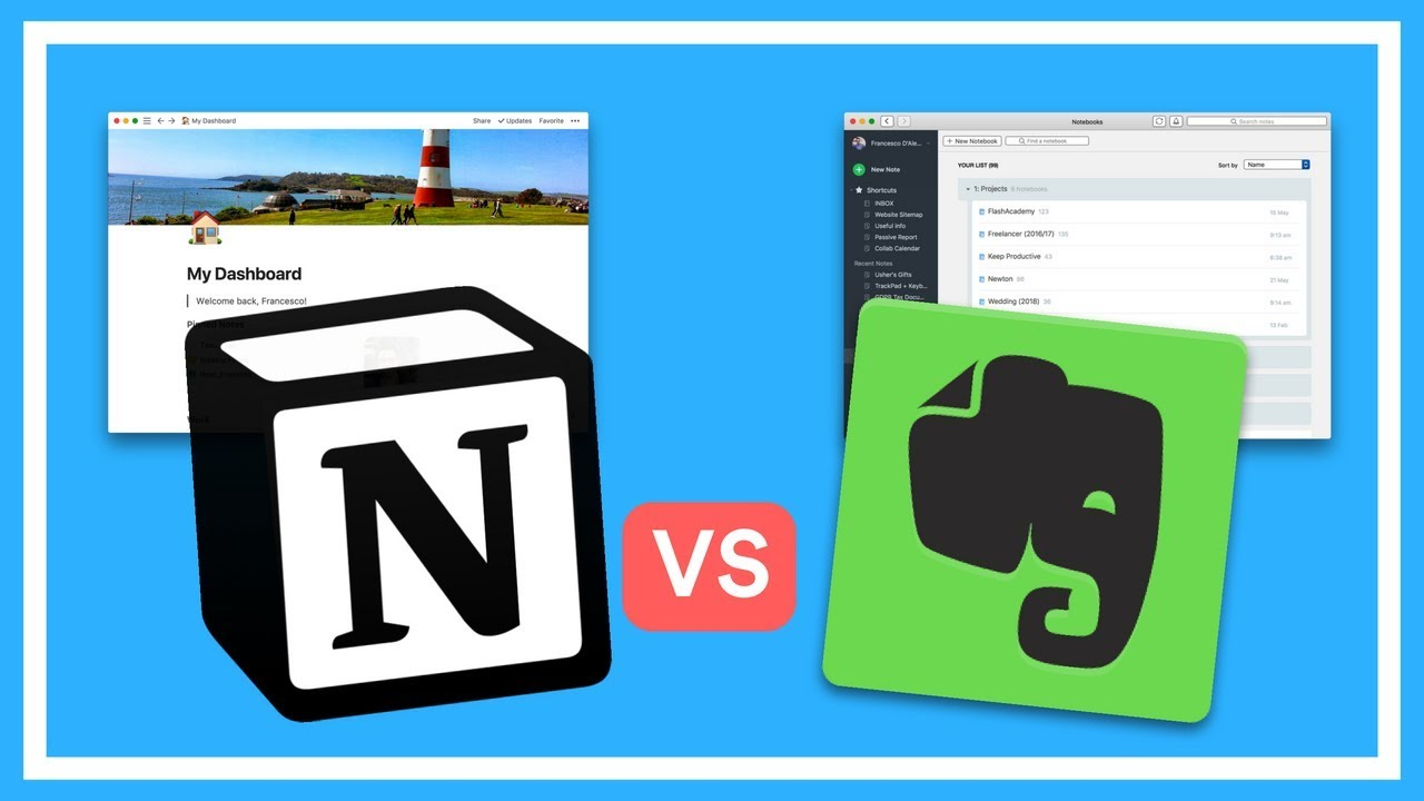 Evernote vs Notion | Head-to-Head Battle