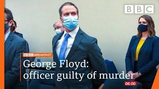 Derek Chauvin found guilty of George Floyd murder after three-week trial - BBC News live 🔴 BBC