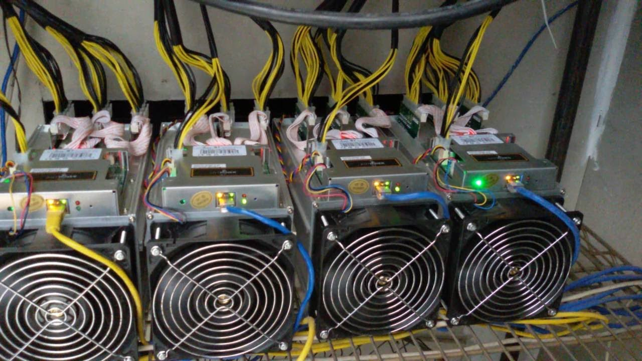 Bitcoin Mining ( antminer S9-B new version ) - YouTube