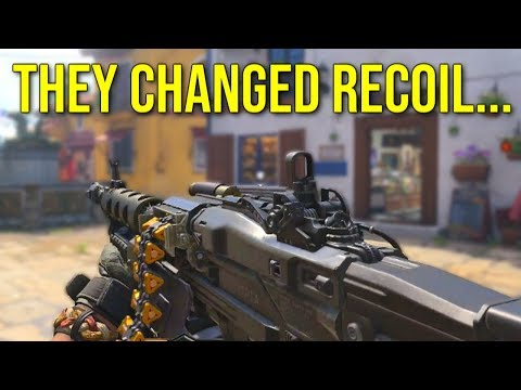 They Changed Recoil in Black Ops 4 Multiplayer (BO4 Gameplay From The Reveal)