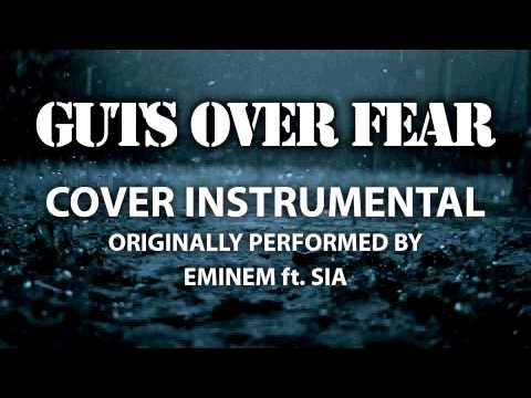 Guts Over Fear (Cover Instrumental) [In the Style of Eminem ft. Sia]