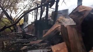 Склад сгорел в россошанском селе, Блокнот Россошь 01.10.2017