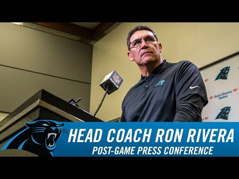 Ron Rivera: The most complete win of the year.